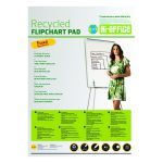 Bi-Office Earth Plain Flipchart Pad A1 40 Sheet (Pack of 5) FL0111801