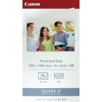 Canon KP-36IP SELPHY Colour Inkjet Cartridge and Papers 100x148mm Tri-Pack6/1 Cartridge 7737A001
