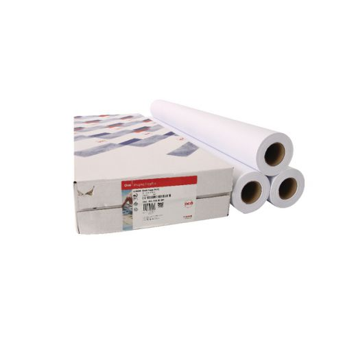 Canon Uncoated Draft Inkjet Paper (Pack of 3) Rolls 610mmx50m 97003457