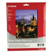 Canon Bubble Jet Paper Semi-Gloss SG-201 8x10 Inches (Pack of 20) Sheets 1686B018