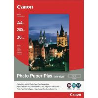 Canon A4 Photo Paper Plus Semi-Gloss 260gsm (Pack of 20) 1686B021