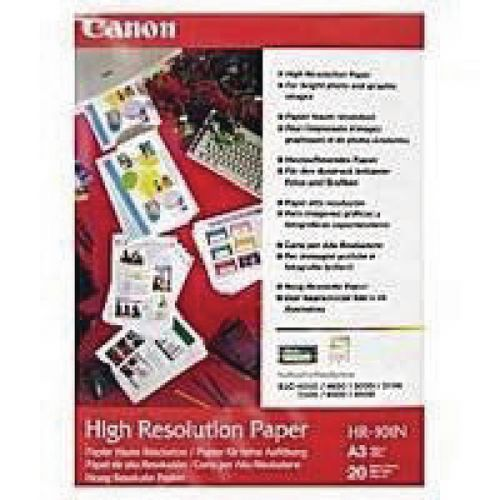 Canon High Resolution Inkjet A3 Paper 106gsm (Pack of 100) 1033A005