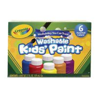 Crayola Washable Kids Paint Colours (Pack of 36) 54-1204