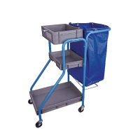 Port-A-Cart 100 Litre Cleaners Trolley MWPCTO01L