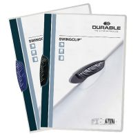 Durable Swingclip Clip Folder A4 Black (Pack of 25) 2260/01