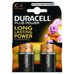 Duracell Plus C Battery (Pack of 2) 81275429