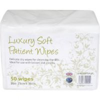 EcoTech Luxury Soft Patient Wipes 50 Sheets PWF2000LUX