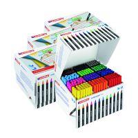 Edding Colour Pen Fine Class Pack (Pack of 288) 5 for 4 ED810672