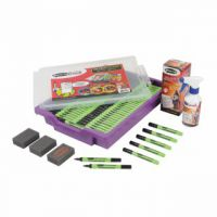 Show-me Drywipe Pens in Gratnells Tray (Pack of 200) GTC200