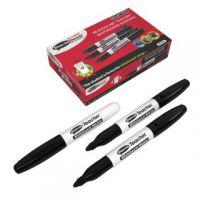 Show-me Teacher Drywipe Black Marker (Pack of 10) STM10
