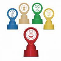 Colop Motivational Stamp Assorted Pack B FOC Happy Face Stamp EM813716