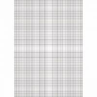 Education A4 Exercise Paper 10mm Squares 500 Sheets (Pack of 5) EN09807