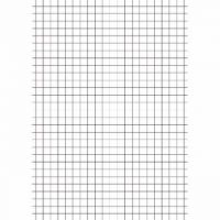Education A4 Exercise Paper 5mm Squares 500 Sheets (Pack of 5) EN09810