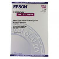 Epson White Photo Inkjet Paper A3+ (Pack of 100) C13S041069