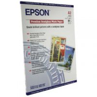 Epson A3 Premium Semi-Gloss Photo Paper (Pack of 20) C13S041334
