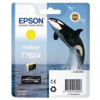 Epson T7604 Yellow Ink Cartridge C13T76044010 / T7604