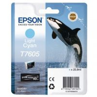 Epson T7605 Light Cyan Ink Cartridge C13T76054010 / T7605