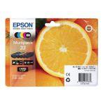 Epson Multipack 33 Non-Tagged Inkjet Cartridges CMYKPhK (Pack of 5) C13T33374011