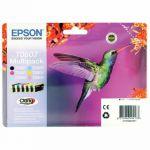 Epson Black /Cyan/Magenta/Yellow/Light Cyan/Light Magenta Photo Ink Value C13T08074011 / T0807