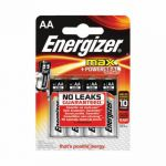Energizer MAX E91 AA Batteries (Pack of 4) E300112500