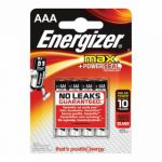 Energizer MAX E92 AAA Batteries (Pack of 4) E300124200