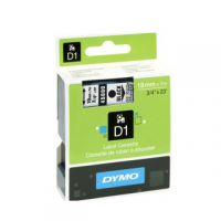 Dymo Black on Clear 2000/5500 Standard Tape 19mmx7m S0720820