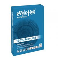 Evolution Business A4 Recycled Paper 100gsm White Ream 500 EVBU21100