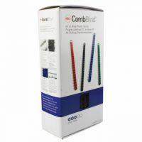 GBC Black CombBind 12mm Binding Combs (Pack of 100) 4028177