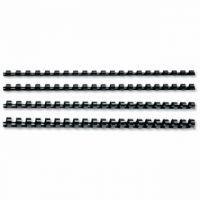 GBC Black CombBind 19mm Binding Combs (Pack of 100) 4028601