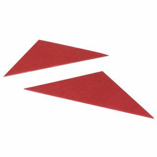 Guildhall Legal Corners 315gsm Red (Pack of 100) GLC-RED