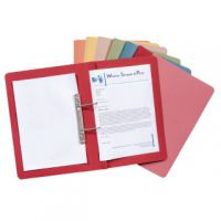 Guildhall Transfer Spiral File 315gsm Foolscap Blue (Pack of 50) 348-BLU