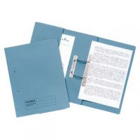 Guildhall Transfer Spiral Pocket File 315gsm Foolscap Blue (Pack of 25) 349-BLU