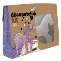 Decopatch Mini Kit Horse (Pack of 5) KIT010O