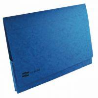 Exacompta Europa Pocket Wallet A3 Blue (Pack of 25) 4785Z