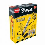 Sharpie Pro Permanent Marker Bullet Tip Black (Pack of 12) S0945720