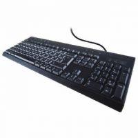 Computer Gear USB Multimedia Keyboard Black 24-0233