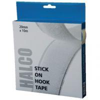 Halco Stick On Hook Roll 20mm x 10m 20AWH10(BOX)