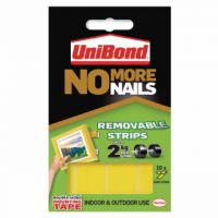 Unibond No More Nails Removable Strips (Pack of 10) 1507604