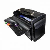 Monolith Pilots Case PVC Black Wheelie 2179