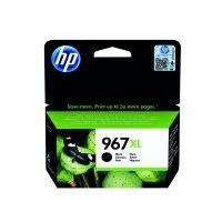 HP 967XL Original Black Ink Cartridge Extra High Yield (3,000 page capacity) 3JA31AE