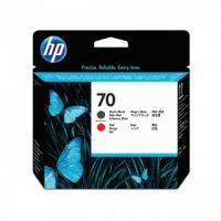 HP 70 Black /Red Printhead Twin Pack C9409A