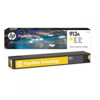 HP 913A Yellow PageWide Inkjet Cartridge F6T79AE