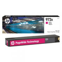 HP 973X Magenta PageWide Inkjet Cartridge High Yield F6T82AE