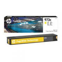 HP 973X Yellow PageWide Inkjet Cartridge High Yield F6T83AE
