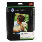 HP Photo Black  Yellow cyan Light cyan magenta Light magenta Cartridge and Paper Q7966EE