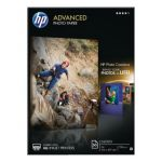 HP A4 White Advanced Glossy Photo Paper 250gsm (Pack of 50) Q8698A