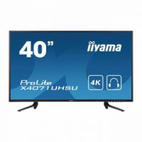iiyama 40in Monitor ProLite X4071UHSU-B1  MVA 4K 3860x2160 HDMI Display Port USB Hub X4071UHSU-B1