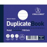 Challenge Ruled Carbonless Duplicate Book 100 Sets 105x130mm (Pack of 5) 100080487