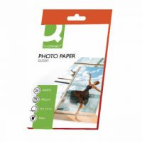 Q-Connect 10x15cm Gloss Photo Paper 180gsm (Pack of 25) KF01905