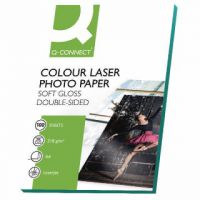 Q-Connect A4 White Soft Gloss Photo Paper 210gsm (Pack of 100) KF01935